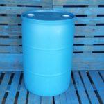 New 55 gallon plastic barrel