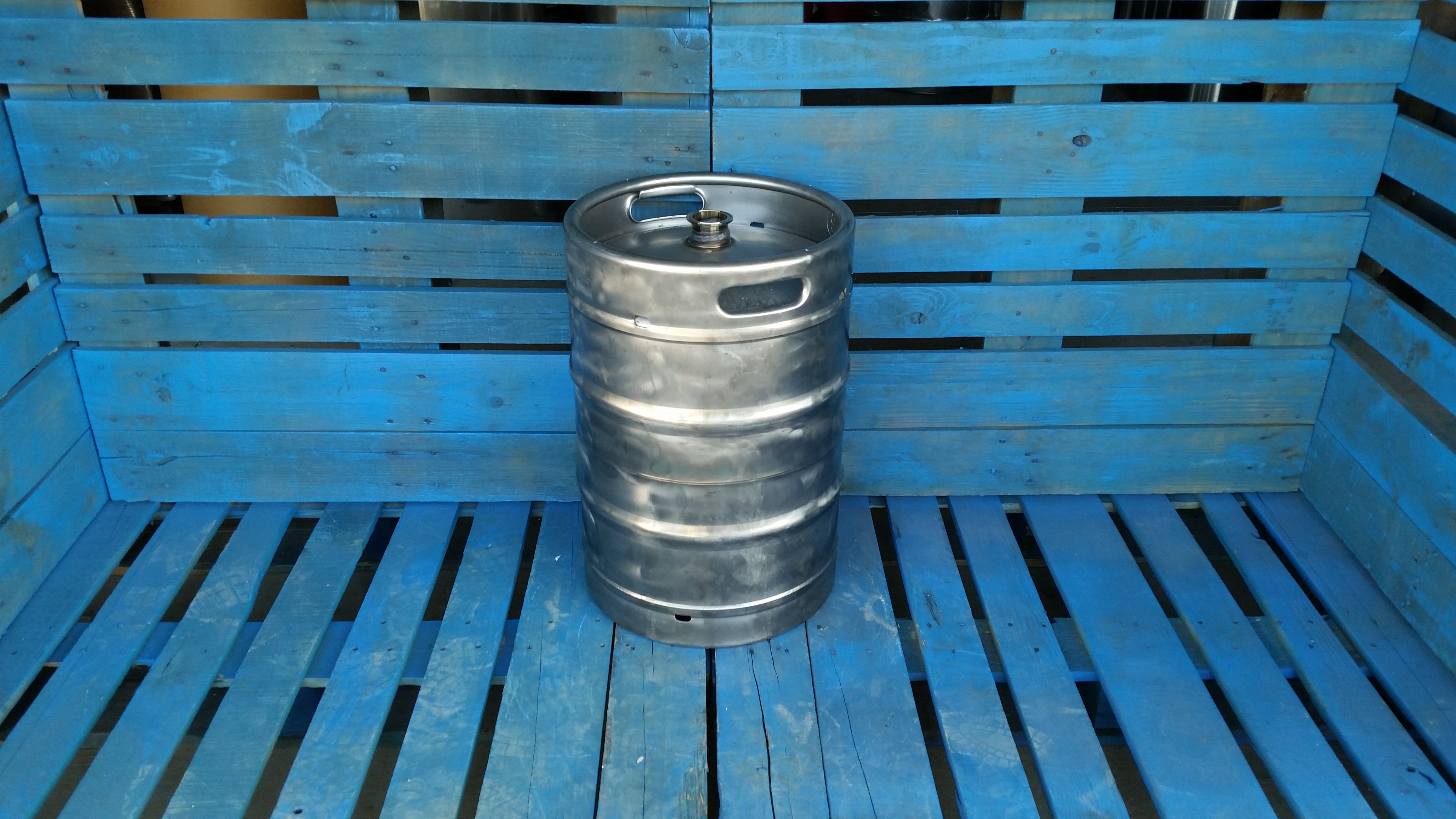 Gallon used stainless steel keg tri clover