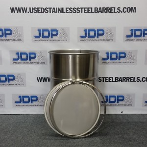30 gallon stainless steel barrel
