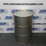 stainless steel smoker drum