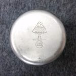 stainless steel 1 quart lab beaker