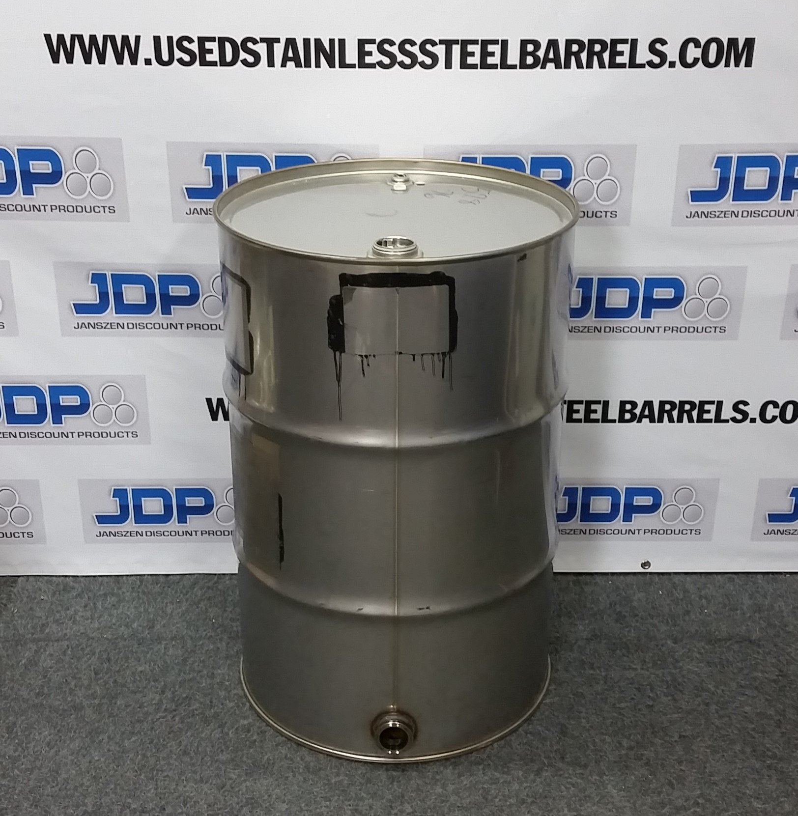 55 gal used ss barrel