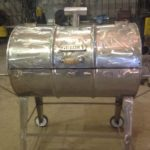 stainless steel barrel grill