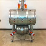 Stainless Steel Barrel Smoker