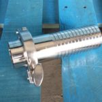 stainless steel hose barb set