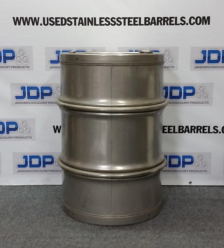 sanitary stainless steel drum