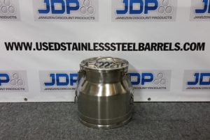 5 gallon stainless steel pail