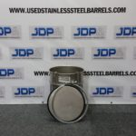 10 gallon stainless steel drum