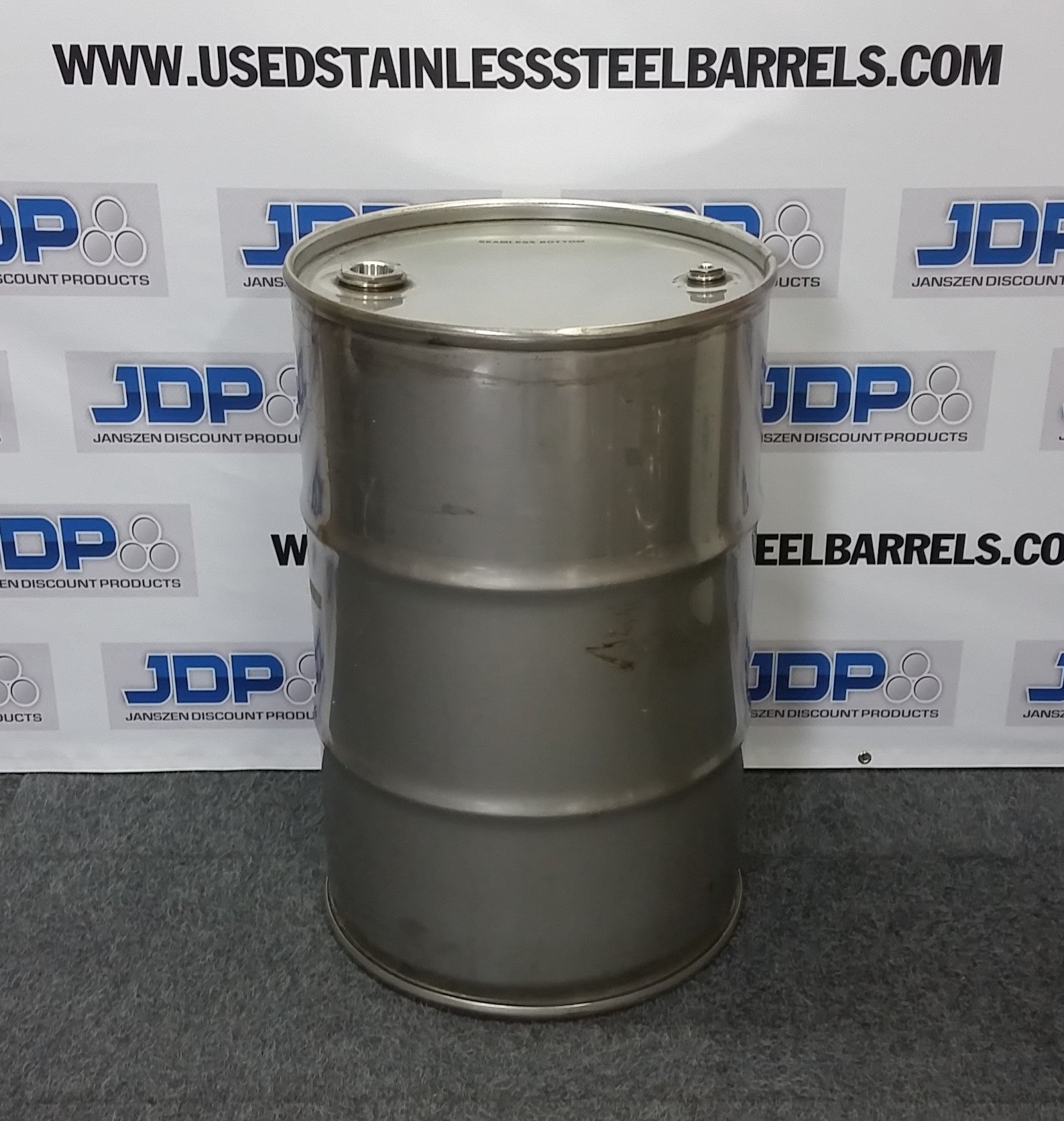 sanitary stainless steel drum