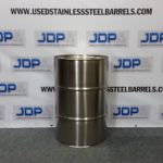 new 30 gallon stainless steel barrels