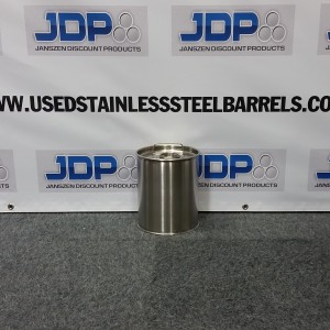 small stainless steel drum