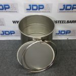 Stainless steel open top drum