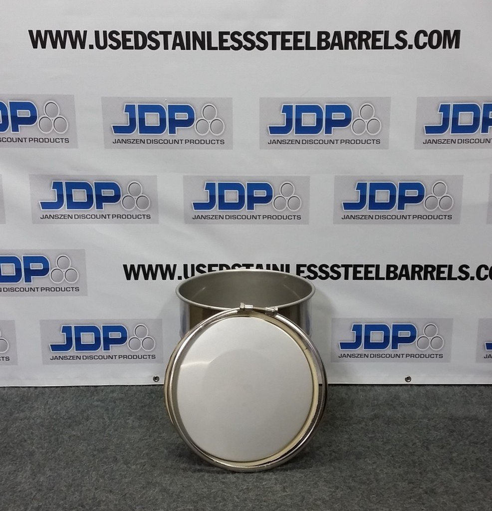 10 gallon open head barrel