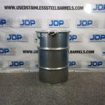 30 gallon stainless steel drum