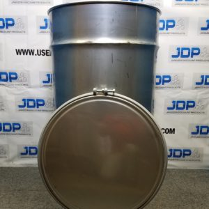 150 gallon open top drum