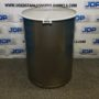 New crevice free stainless steel drum