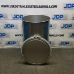 55 gallon sanitary stainless steel drum