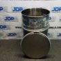 316 stainless steel open top drum