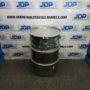open head stainless steel drum
