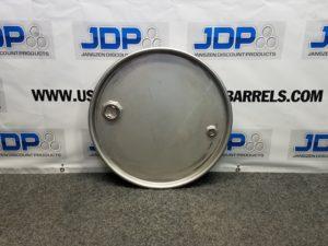 stainless steel drum lid