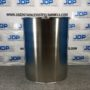 100 gallon stainless steel drum open top