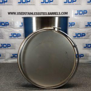 100 gallon stainless steel drum