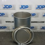 laser welded stainless steel drum