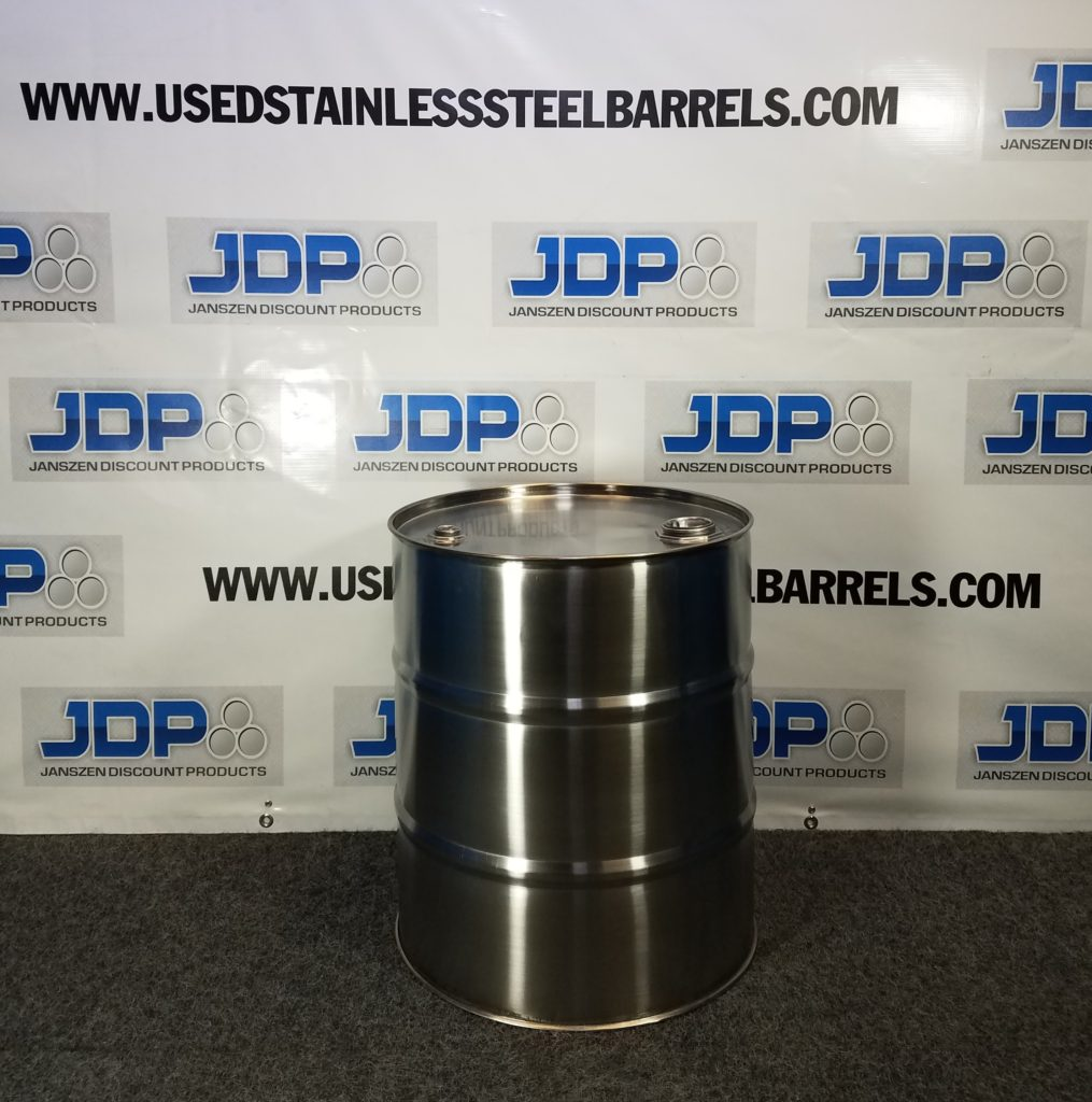 20 gallon stainless steel drum