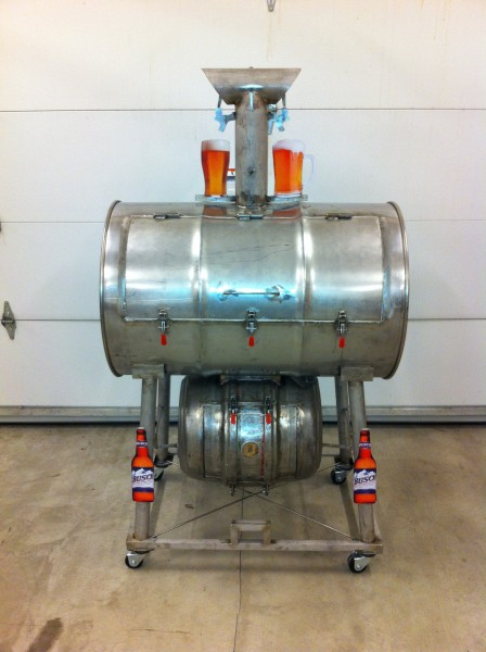 Stainless Steel Drum Smoker