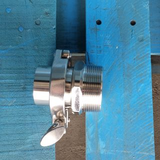 barrel adapter stainless steel set