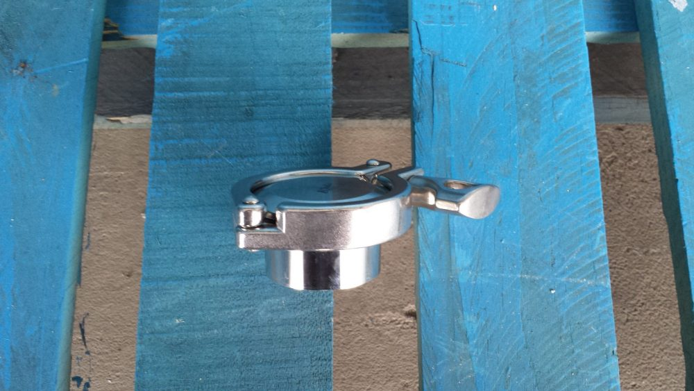 stainless steel 2 inch fitting cap