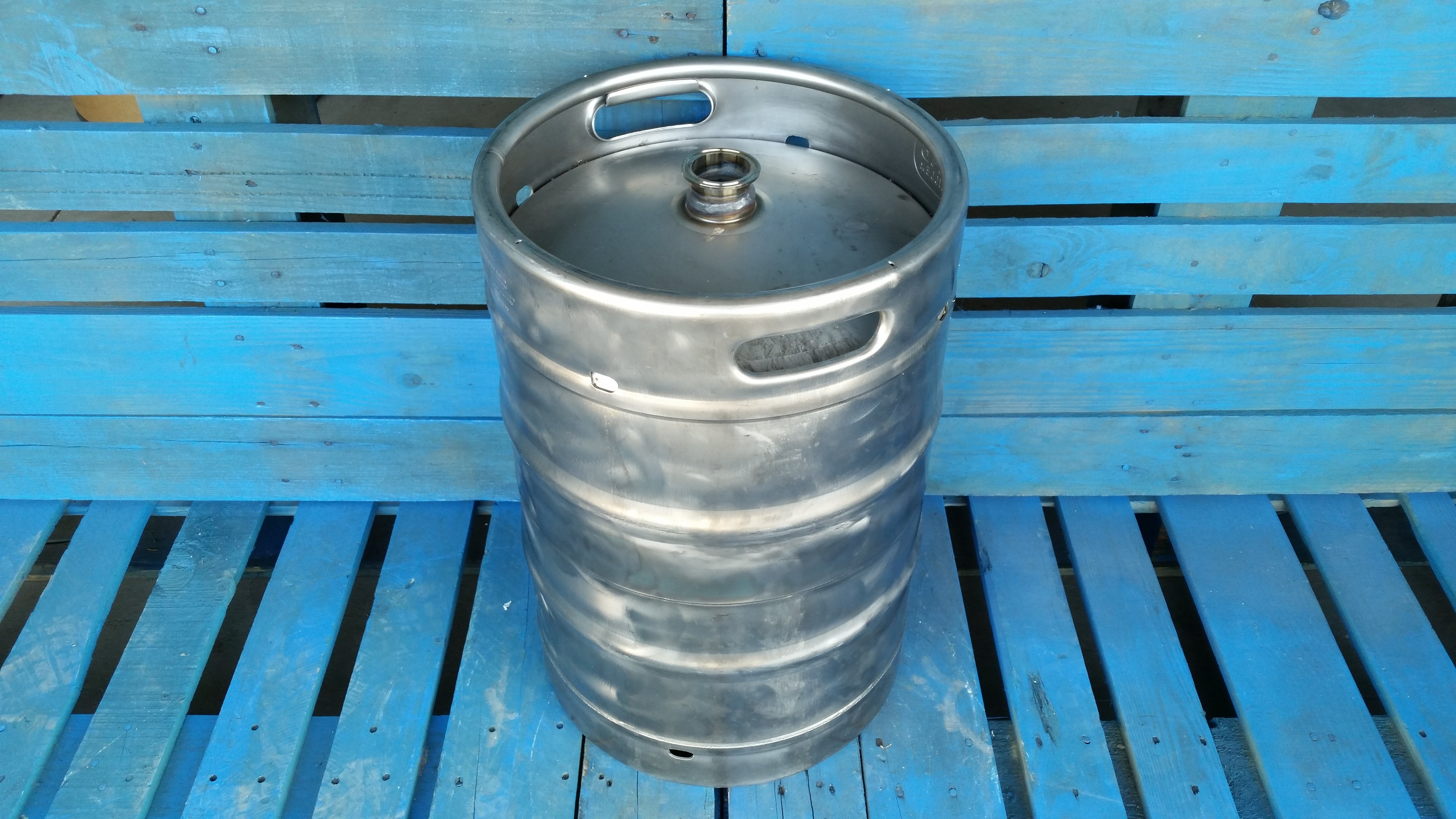 Gallon used stainless steel keg tri clover fitting