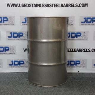 thick stainless steel drum