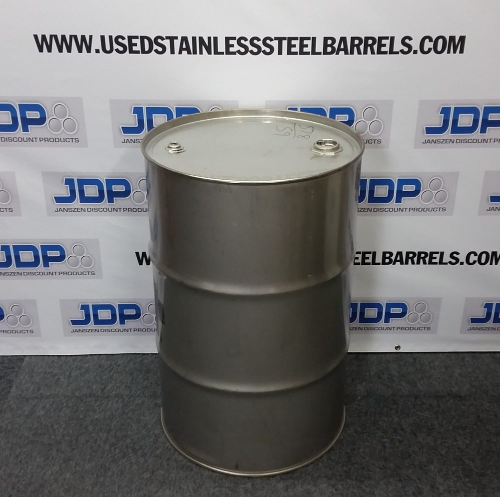 stainless steel smoker drum
