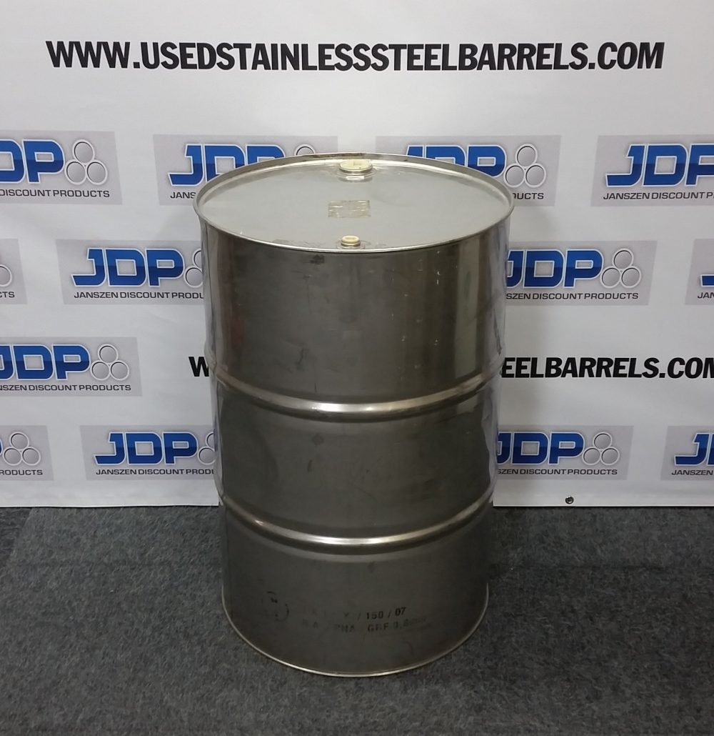 stainless steel burn barrel