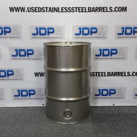 30 gal 304 NEW Stainless CLOSED HEAD w/ side bung (1.2mm)