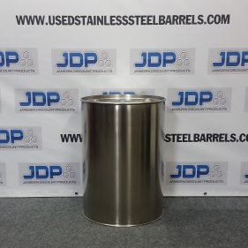 30 gal 304 NEW stainless CLOSED HEAD w/ SMOOTH sides (1mm)