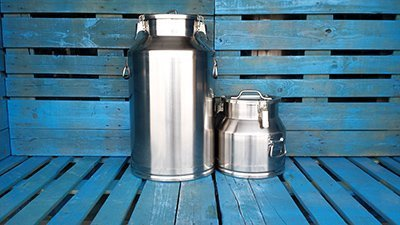 stainless steel milk pails for sale used stainless steel barrels. Black Bedroom Furniture Sets. Home Design Ideas