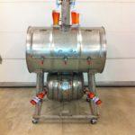 Stainless Steel Barrel Smoker