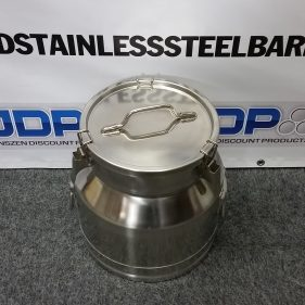 5 Gallon Stainless Steel Pail with Sanitary Bottom