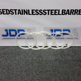 5 Extra Gaskets for Stainless Steel Pails