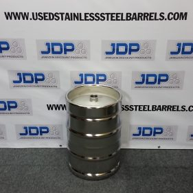 15.5 gal NEW SS Keg with spear SOLD OUT