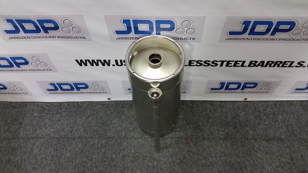 5 gallon stainless steel keg
