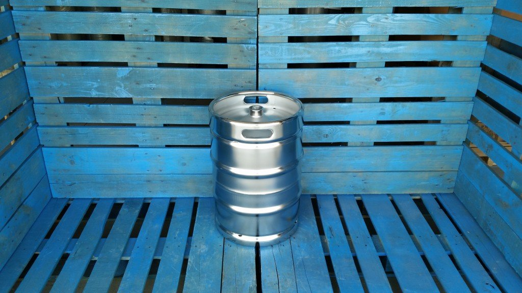 New Stainless Steel Keg