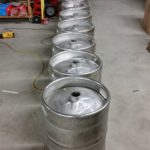 Used Stainless Steel Kegs