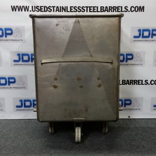 Stainless Steel Tote