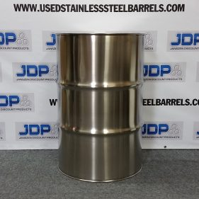 (8 PACK) 55 gal 304 NEW stainless Closed Head Barrel (1.2mm) $389 per