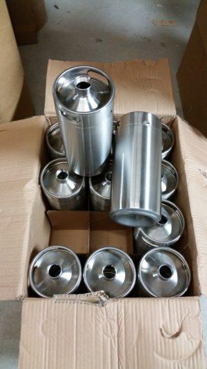 1 gallon stainless steel growler
