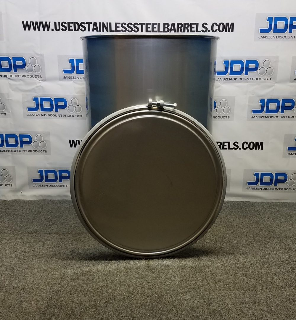 85 gallon stainless steel drum