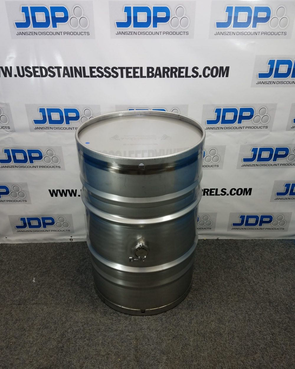 stainless steel wine drum